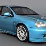 Chevrolet Lacetti 3d model