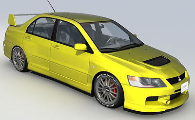 Lancer Evolution 8th Generation