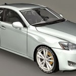 Lexus IS350 Medium poly