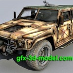 Light Tactical Vehicle 3d model
