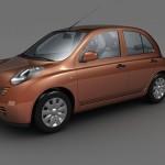 Nissan Micra 3d model