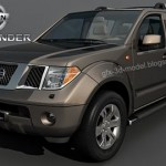 Nissan Pathfinder 3d model