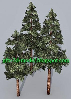 Pine Tree model