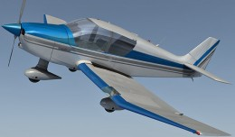 Robin Dr400 3d render