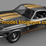 1967 Shelby Mustang car model
