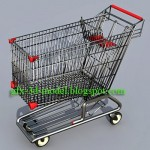 Shopping Cart – 3d model