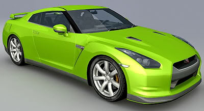 Nissan gtr r35 free 3d models 1 malvernweather Image collections