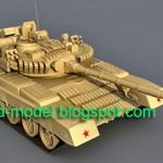 T80 tank model