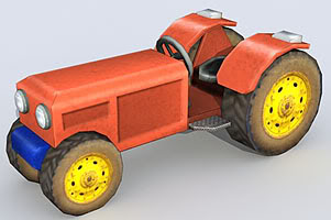 Tractor – Lowpoly