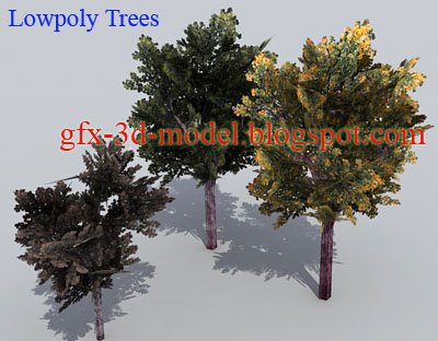 Lowpoly Trees
