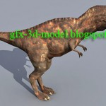 Tyrannosaurus – 3d animal model