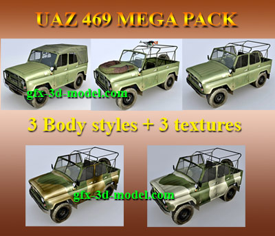 UAZ 469 Mega Pack