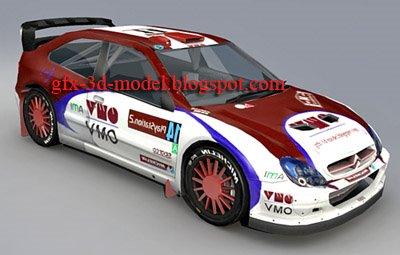 Citroen Xsara WRC car model