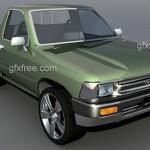 Toyota Hilux truck 3d model