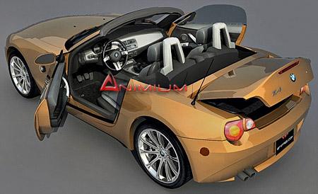 Bmw Z4 3d Model Animium 3d Models