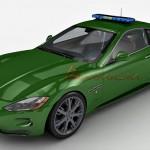 Maserati GTS 3d model