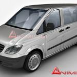 Mercedes Vito 3d model