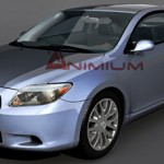Scion tC 3d model