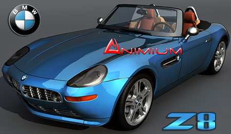 Bmw Z8 3d Model Animium 3d Models