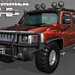 Hummer H3 3d model