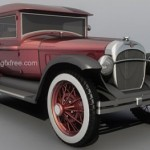 Pearce 1931 vintage car 3d model