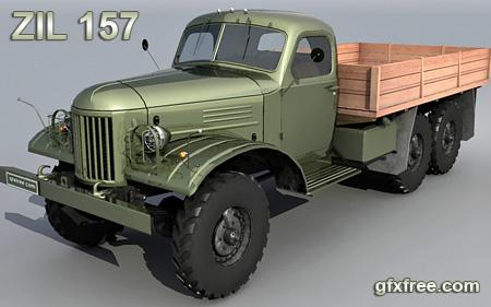 zil 157 free 3d model