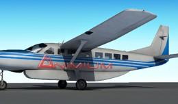 cessna 208 grand caravan 3d model