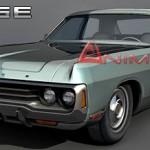 Dodge Polara 3d model