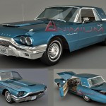 1964 Ford Thunderbird 3d model