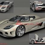 3D Models Koenigsegg CCX