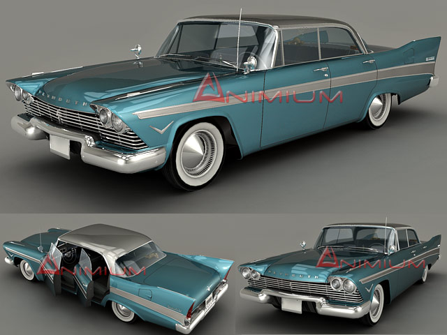 D Models Plymouth Belvedere Free D Models - Old cars model