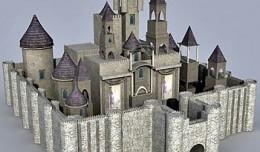 castle 3d render
