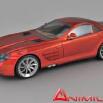 Mercedes Benz SLR McLaren 3d model