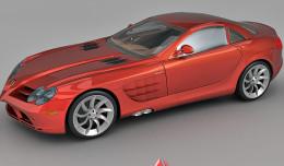 Benz SLR Mclaren
