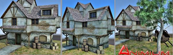 Medieval cottage