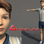 Boy 3d Character model