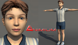 boy 3d character