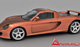 Porsce Carrera GT 3d model