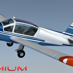 Rallye MS893 aircraft 3d model