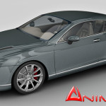 Bentley Continental 3d model