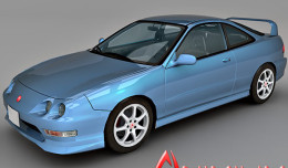 Honda Integra 3d model