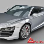 Audi R8 GT Spyder 3d model