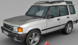 1999 land rover 3d model