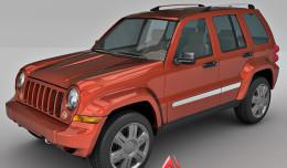 Jeep Liberty 3dmodel