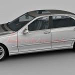 Mercedes Benz S65 AMG 3d model