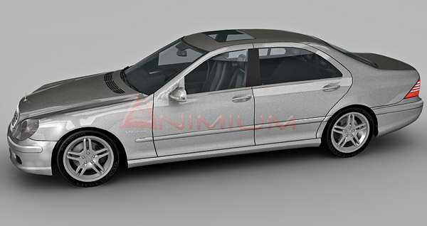 3dSkyHost: Mercedes Benz S65 AMG 3d model