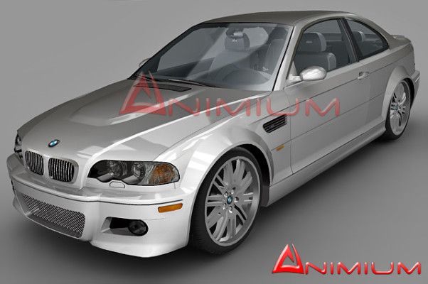 BMW m3 3d car render