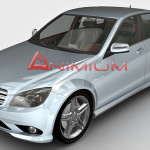 Mercedes Benz C-Class C350 3d model