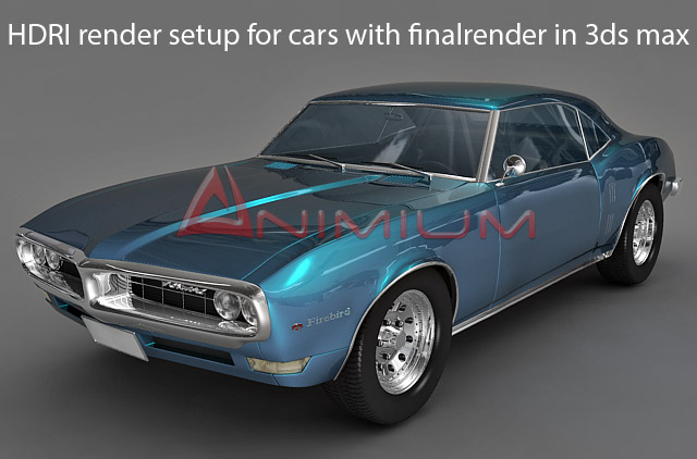 Hdri render setup for cars with finalrender in 3ds max free 3d models 1 publicscrutiny Gallery