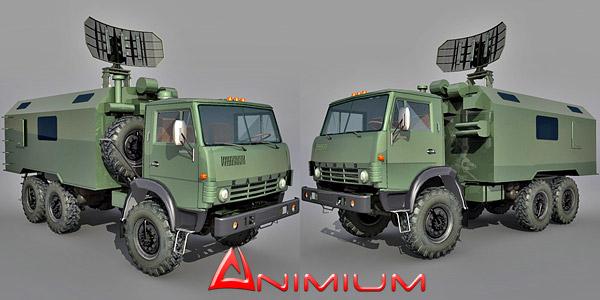 Kamaz 4310 army truck